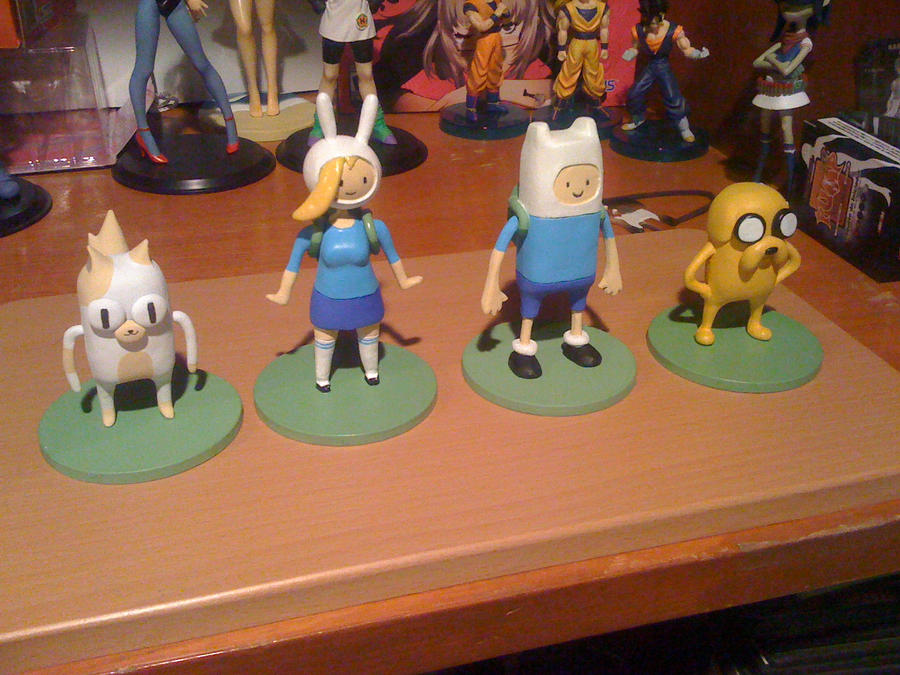 ADVENTURE TIME - FINN , JAKE , FIONA AND CAKE by nexthd