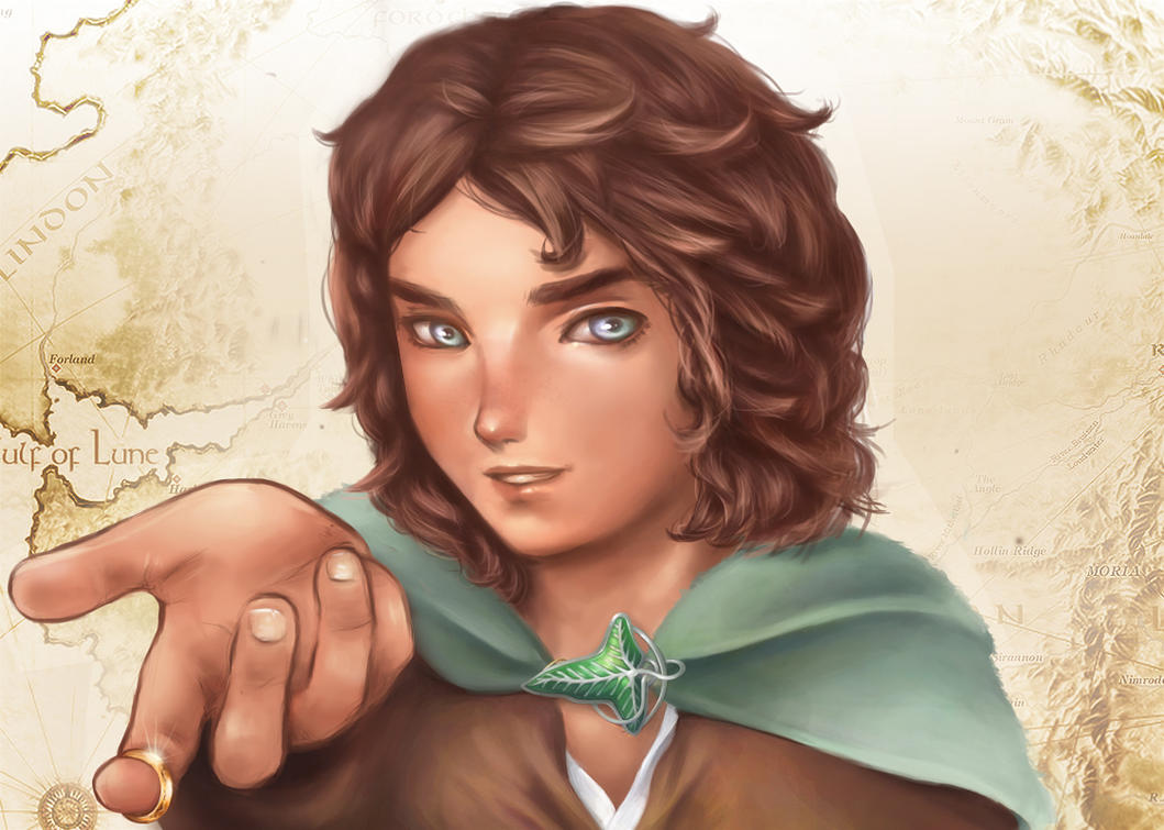 Lord of the Rings - Frodo Baggins by Mochito