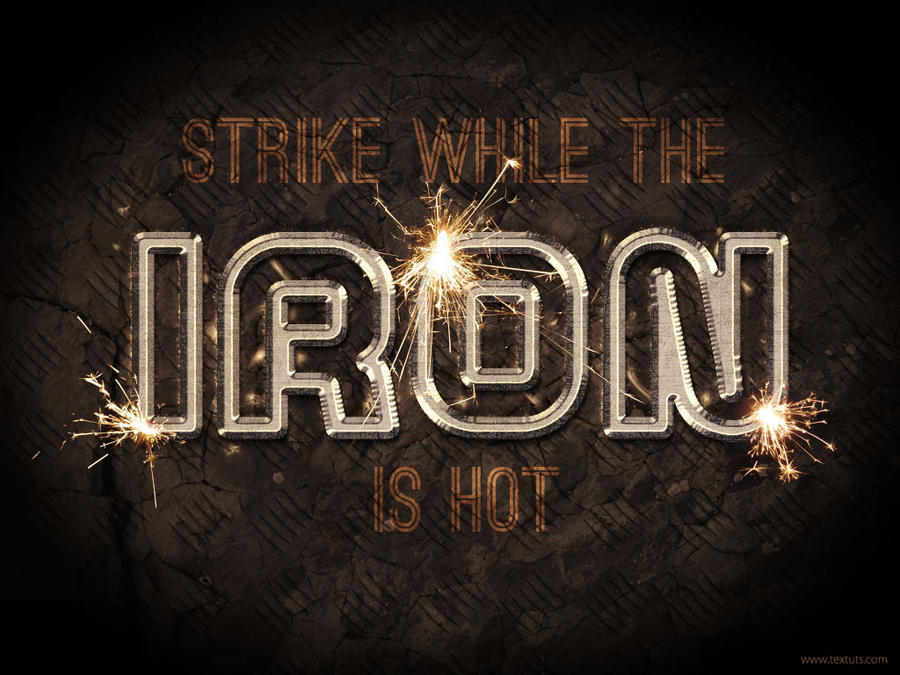 Iron by Textuts