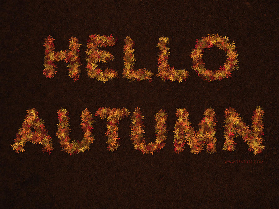 Hello Autumn! by Textuts