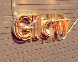 Glow by Textuts