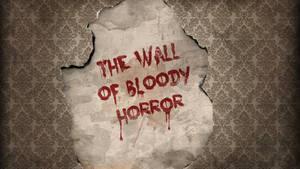 Bloody Vintage Wallpaper Design