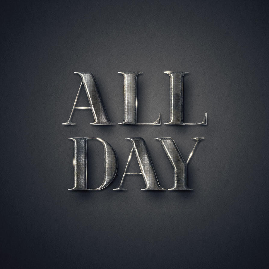 All Day by Textuts