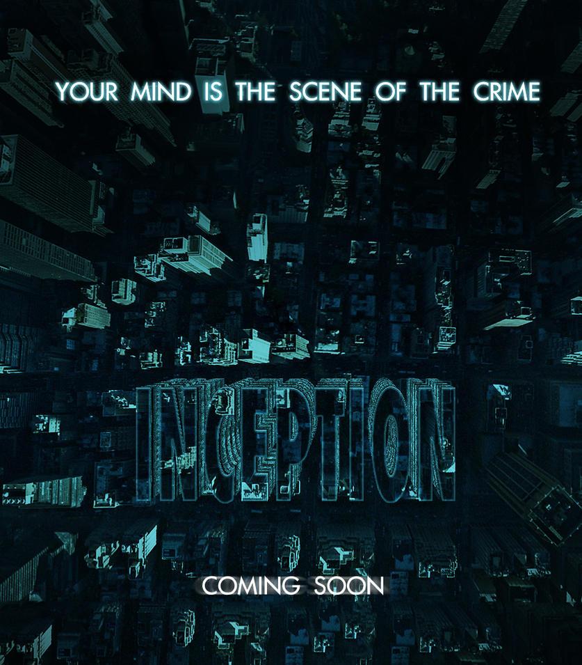 Inception Wallpaper: Inception Poster By Matzell On DeviantArt