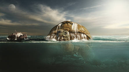 Giant Turtle by Matzell