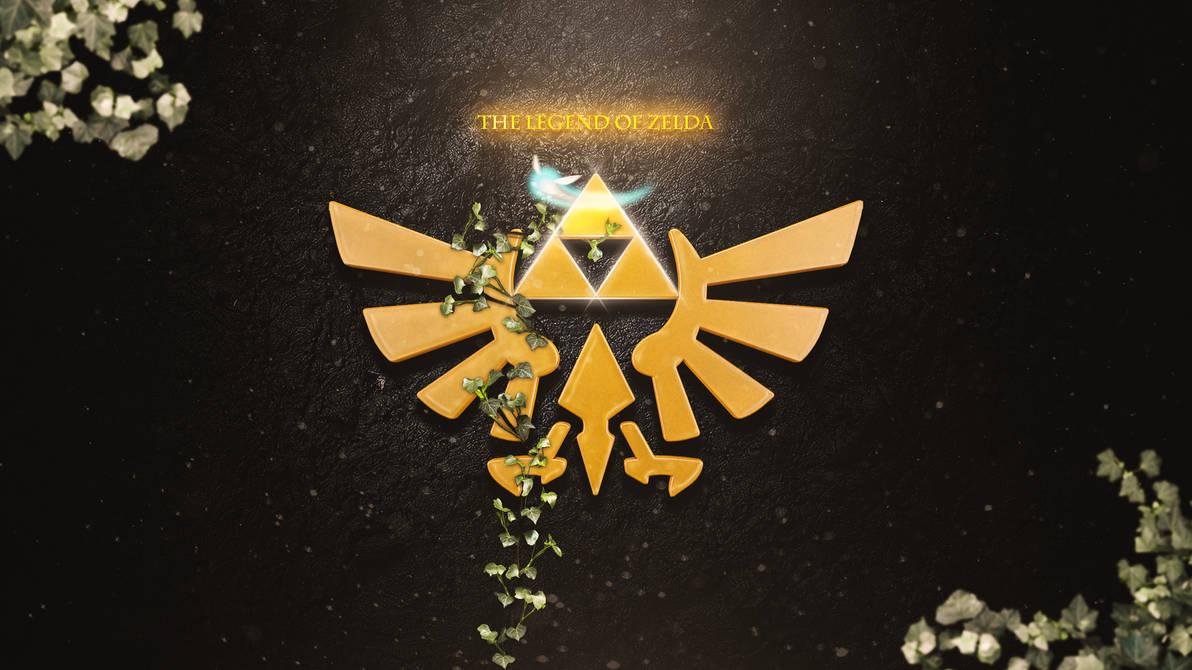 Zelda Triforce Logo Wallpaper By Matzell On Deviantart