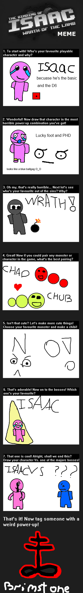 Binding Of Isaac Meme by thenoobster123
