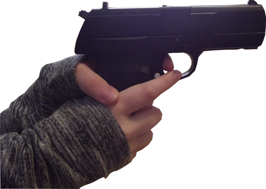Female Hand Stock-Gun by Viktoria-Lyn on DeviantArt