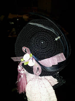 Close up of hat