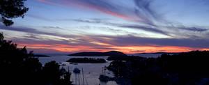 Maslinica Sunset