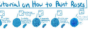 How to Paint Roses (( For Super Lazy People))