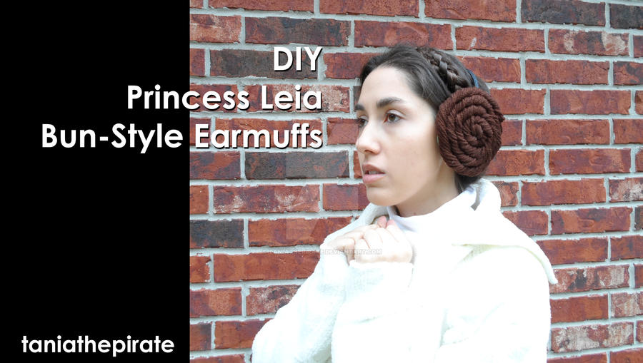 DIY - Princess Leia Bun-Style Earmuffs by taniathepirate