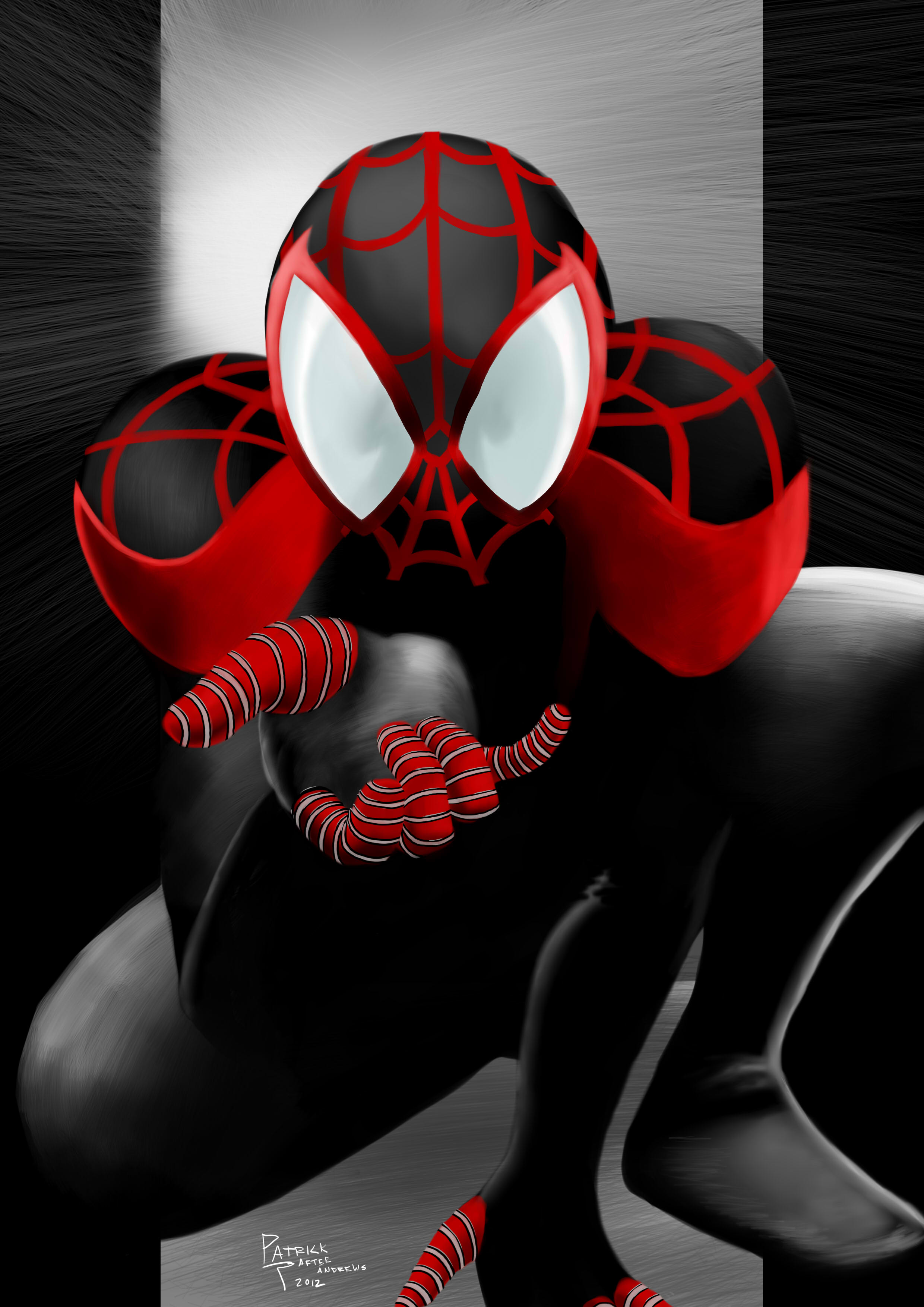 Pictures Of Ultimate Spider Man Wallpaper Miles Rock Cafe