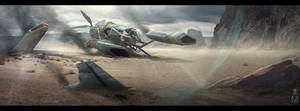 Crashed Ship - Well City