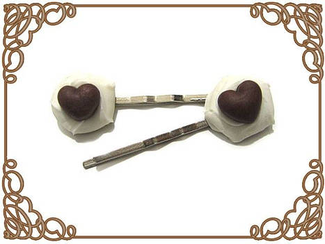 Choco Heartpins