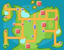 Pokemon Opal: In-Game World Map by NekonRoafu