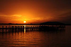 Vibrant sunset. by arctichorse90