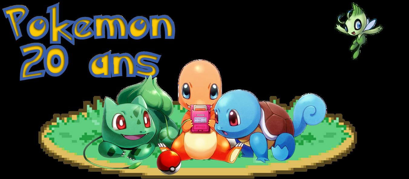 Pokemon anniversary