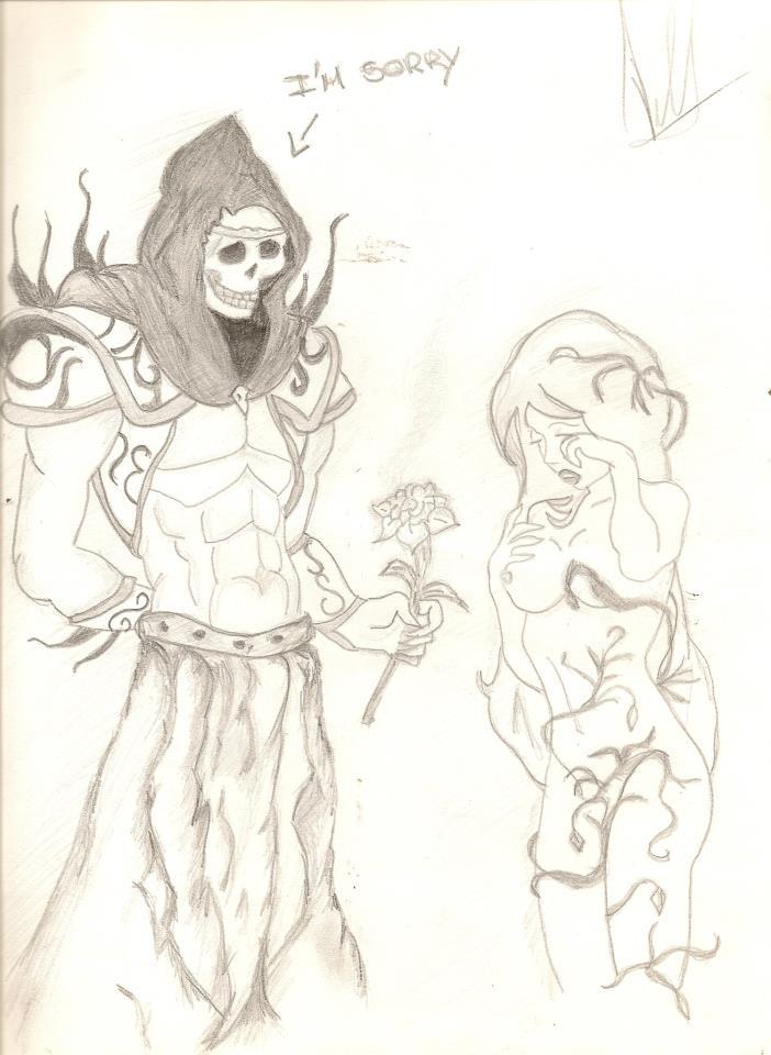 Hades y Persephone by Luna-lunatica on DeviantArt