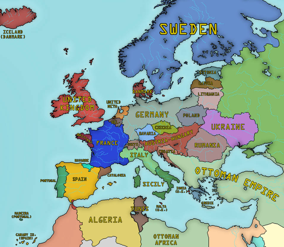 Expedition Of The Thousand Historical Atlas Of Europe 29 May