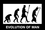 Evolution of Man by LS-Jebus