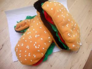 Hamburger Mittens