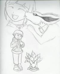 Geamauve gift art by DarkKitsunegirl