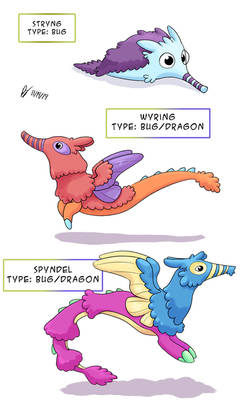 Fakemon - Worm on a String
