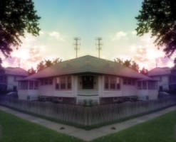 House sunrise