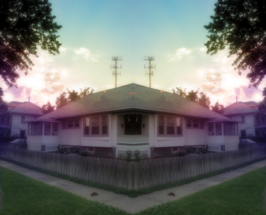 House sunrise by IvoryDrive