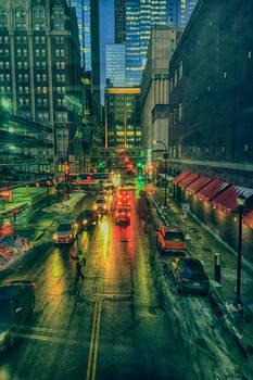 DT Minneapolis at night