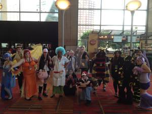 Pokemon Group Photoshoot at CTcon 2013