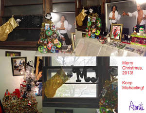 Merry Christmas 2013 - MJ Room and Decorations