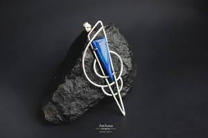 MONO EARRING silver jewelry geometric earring by AstannaJewelry