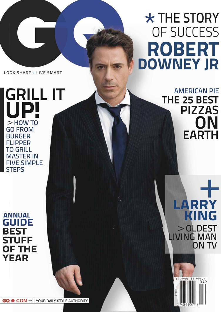 Philuppus philip lundgren deviantart for Gq magazine cover template