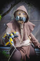 Arkham Scarecrow Cosplay by gimpcowking