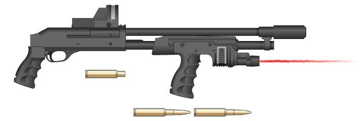 SHOTGUN CAL. 50 by GMG5000
