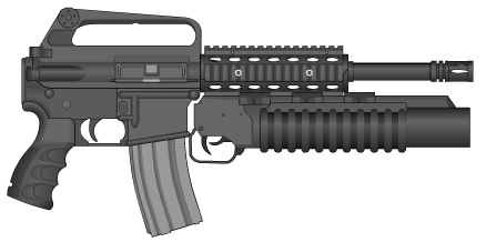Punisher M-16 by GMG5000