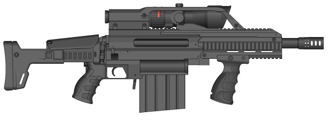 50 Assault Rifle by GMG5000