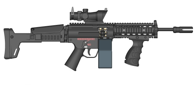 Saw Mp5 by GMG5000