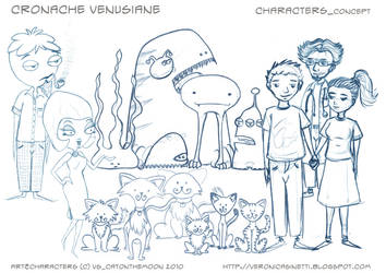 VC_Characters CONCEPT by vs-catonthemoon
