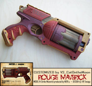 Hunters J-Rouge Maverick CUSTOM by vs-catonthemoon