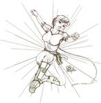 ROCKS_Nix jump SKETCH by vs-catonthemoon