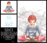 Bianca_ILLUSTRATION #4_ STEP BY STEP by vs-catonthemoon