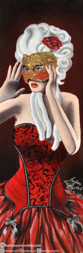 Masquerade by barbara-art