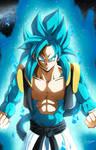 Goku xeno SSJ4 x Goku SSB - Dragon Ball Heroes