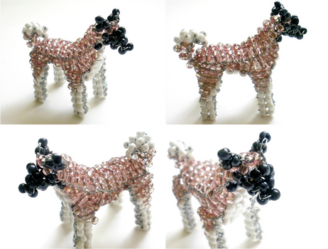 Beaded Akita + minicontest