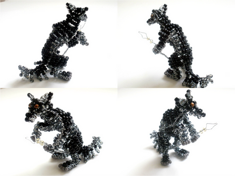 Beaded Werewolf Hunter