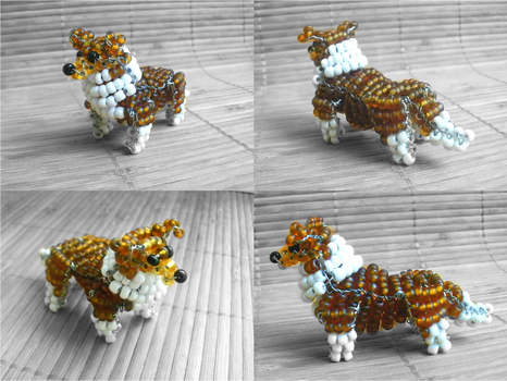 Beaded Shetland Sheepdog