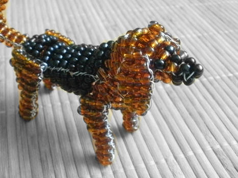 Beaded Bloodhound 2